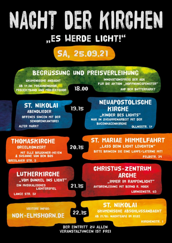 Nacht der Kirchen am 25.09.21