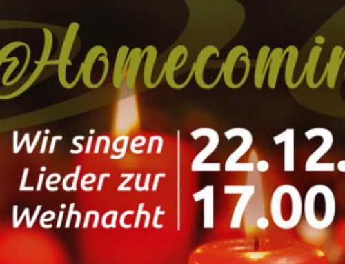 Homecoming – Wir singen Lieder zur Weihnachtszeit